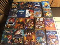 Brand new Disney DVDs sealed 15 each in N Lakeland can ship also Lakeland, 33810