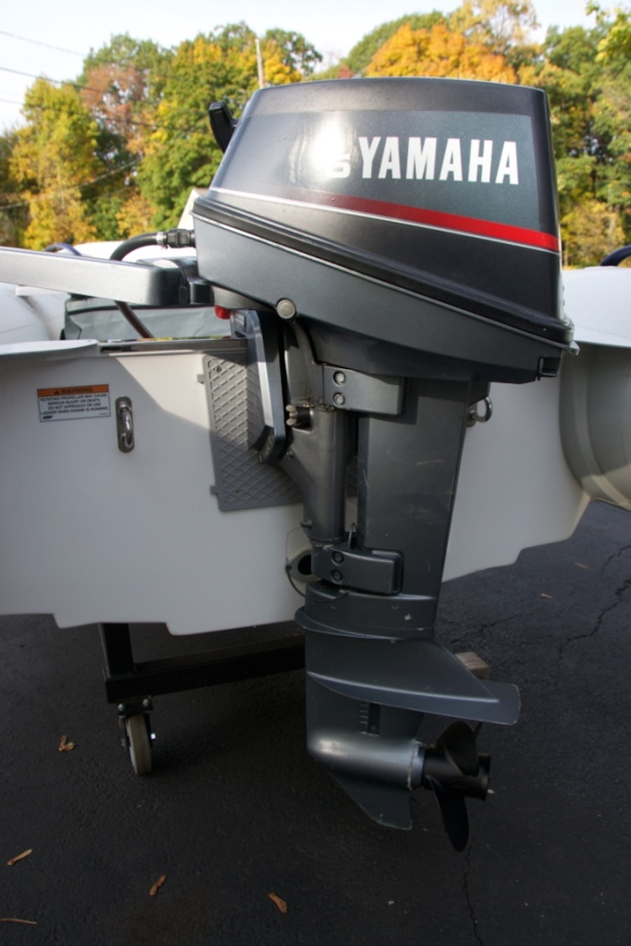 Used yamaha outboard 6hp in hawthorne for Yamaha policy