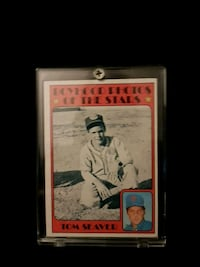 Young Tom seaver card