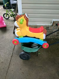 toddler's yellow and red push trike Niceville, 32578