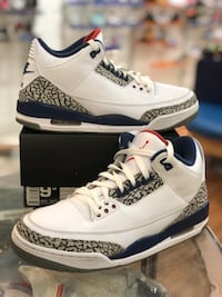 True blue 3s size 9.5 Silver Spring, 20902