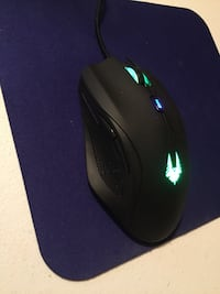 black and blue corded computer mouse Bellevue, 68005