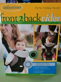 Baby front and back rider