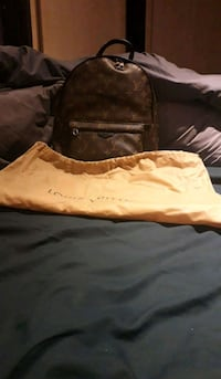 brown and black leather bag Greater London, SE19 3JW