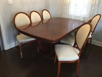 Dining Room Table & Chairs Vaughan, L0J 3Z8