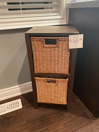 Wicker storage Oakville, L6M