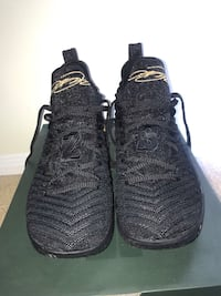 Lebron XVl black and gold/ I'm king edition. Size 10 Mississauga, L4Z 1M9
