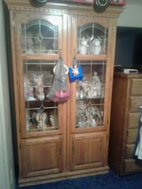 Curio Cabinet with glass shelves Conway, 29526