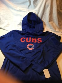 Chicago Cubs Dugout Large Hoodie Little Rock