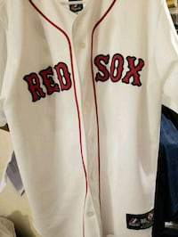 Redsox Jersey size LG no rips or tears  Raleigh, 27605