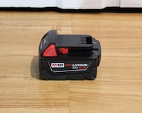 Milwaukee M18 Lithium-Ion XC 5.0Ah Battery Pack (not negotiable) New York, 10012