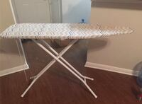white and gray ironing board Plano, 75024