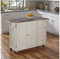 NEW MOVEABLE KITCHEN ISLAND Sterling, 20165
