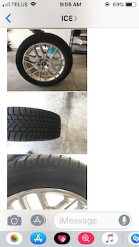 r 18 size winter tires for a MUSTANG BURNABY