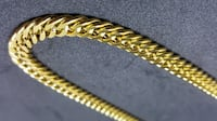 18K PVD Gold 9mm / 6mm / 5mm Boxer Cuban Chain 24in/26in (WaterProof) Mississauga