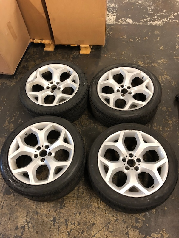 Used Bmw X5 X6 20 Quot 214 Style Y Spoke Oem Rims Wheels For