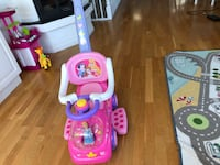 Rosa og hvite disney princesses ride-on leke Oslo, 0282