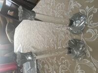 PEWTER AND GLASS SOLID CANDLE HOLDERS KELOWNA
