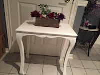 White wooden accent table Vaughan, L4J 1L5