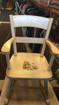 white wooden rocking chair Victoria, V8W 2G2