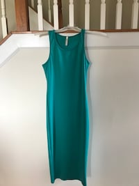 Teal maxi dress Clarksburg