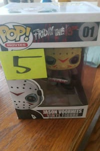 Pop ! Jason Voorhees vinyl figure Herndon, 20170