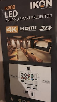Ikon led android smart projector box Toronto, M3M 1A6