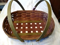 Longaberger Oval Gathering Basket (reduced) Smithsburg, 21783