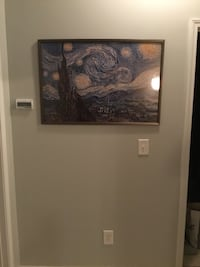 Framed poster: Starry night by Vincent Van Gogh Raleigh, 27612