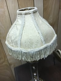 women's white floral lampshade WASHINGTON