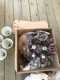 Ceiling fan with all pieces. Clinton, 01510