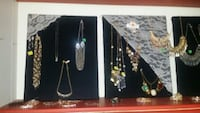 Fashion Jewelry,  some handmade pieces, a few older costume pieces.