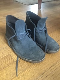 Clarks suede shoes - 8.5M Arlington, 22201