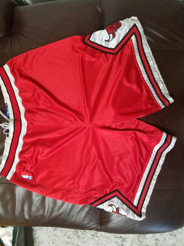 Nba authentic game worn shorts