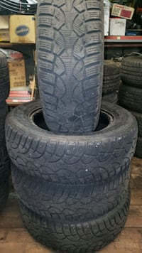 Set of 21565r16 winter tires set of 4