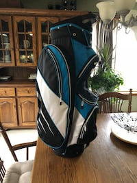 black and blue golf bag North Middlesex, N0M