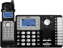 (Reduced)RCA DIGITAL ANSWERING SYSTEM WITH 4 EXTRA HANDSETS (CORDLESS)
