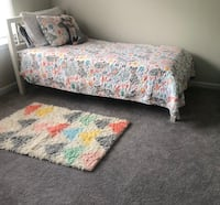 Pillowfort twin size comforter and matching rug