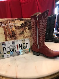 Old gringo red boots Pearl, 39208