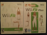 two Nintendo Wii Fit Fitness games
