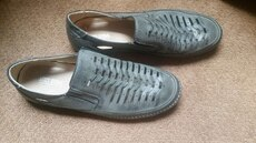 Mens 12 Stacy Adams Leather Loafers