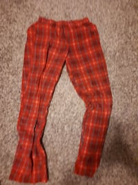 Pj pants stretchy waist size small