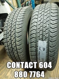 selling a set two_______  195/65R15 motomaster ______ all season tires  Port Coquitlam