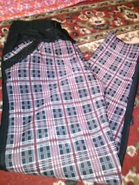 white, black, and red plaid shorts Erie, 16504