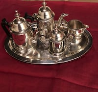Child's silver plated coffee and tea service   Falls Church, 22042