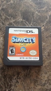Nintendo ds sim city