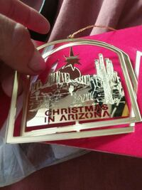 24 karat gold  arizona state 3d official ornament Henderson, 89015