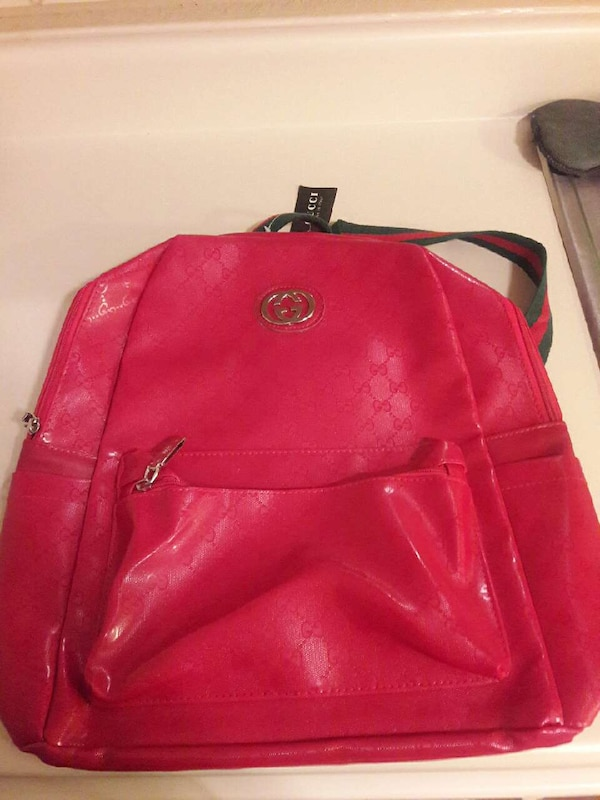 b775d3f82 Used pink leather Gucci backpack for sale in Killeen - letgo