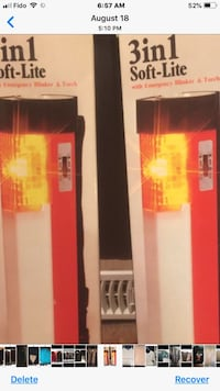 Emergency Light Never Used Reduced  Toronto, M4A 1T7