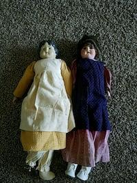 2 old dolls Frederick, 21702
